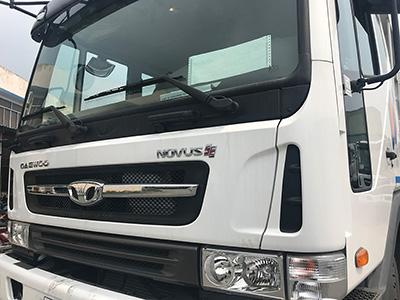 Bán xe Ben Daewoo Novus K4DEF đời 2017, màu trắng, nhập khẩu