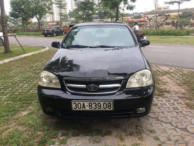 Cần bán xe Daewoo Lacetti sản xuất 2009, màu đen, giá 185tr