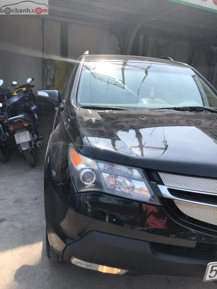Cần bán lại xe Acura MDX 3.7L đời 2008, màu đen, xe nhập