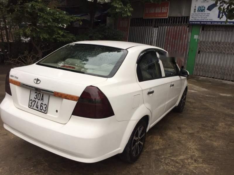 Bán Daewoo Gentra năm 2009, màu trắng, nhập khẩu nguyên chiếc