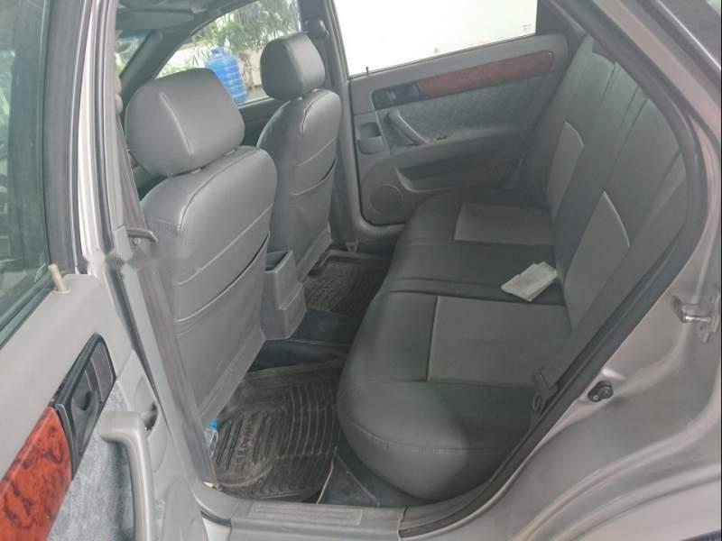 Bán xe Daewoo Lacetti năm sản xuất 2009, màu bạc