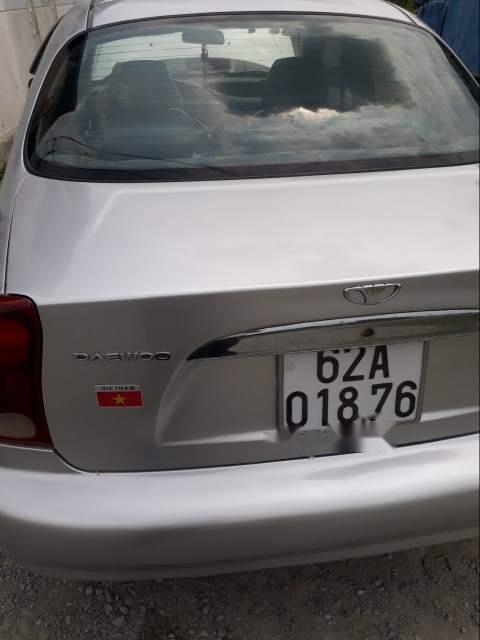 Bán xe Daewoo Lanos sản xuất năm 2002, màu bạc