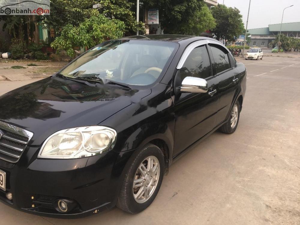 Cần bán Daewoo Gentra 2009, màu đen, xe nhập như mới