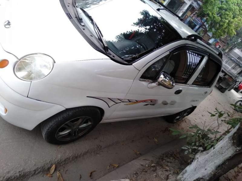 Bán Daewoo Matiz đời 2004, màu trắng xe gia đình, giá 52tr