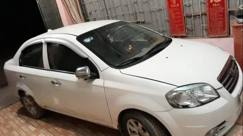 Cần bán lại xe Daewoo Gentra năm 2008, màu trắng