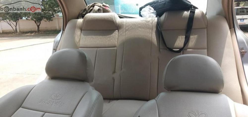 Xe Daewoo Gentra SX 1.5 MT sản xuất năm 2007, màu bạc giá cạnh tranh