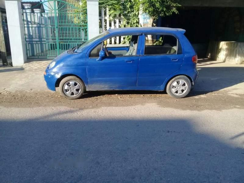 Cần bán lại xe Daewoo Matiz đời 2001, màu xanh lam, xe nhập, giá tốt
