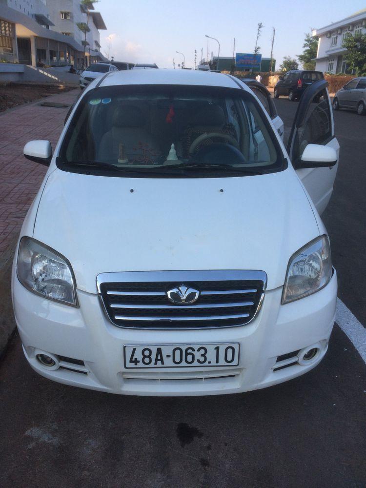 Bán Daewoo Gentra năm sản xuất 2009, màu trắng, giá chỉ 140 triệu
