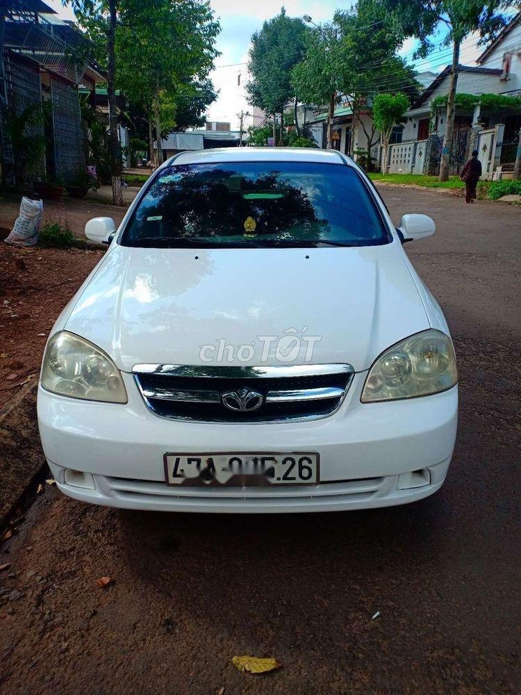 Bán xe Daewoo Lacetti MT đời 2009, màu trắng
