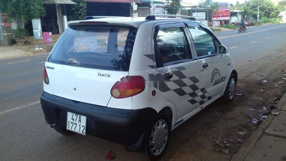 Bán Daewoo Matiz sản xuất 2000, màu trắng, xe nhập