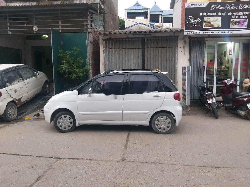 Bán xe Daewoo Matiz năm 2001, màu trắng, nhập khẩu, 35 triệu